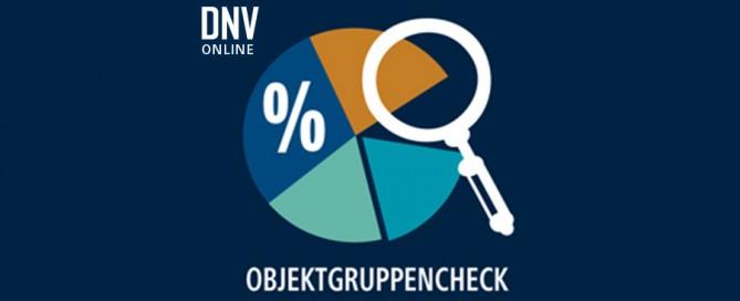 DNV Objektgruppencheck